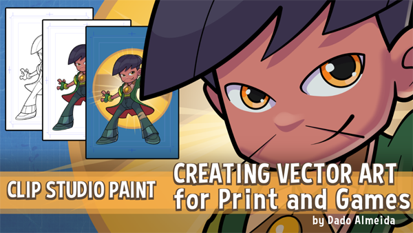 Creating Vector Art for Print and Games