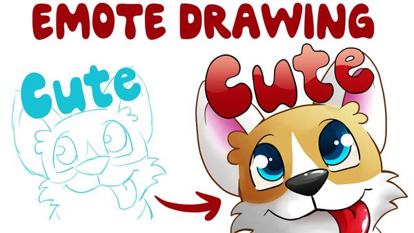 Illustrationen für Emotes und Icons zeichnen
