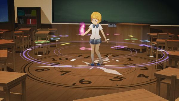 Animar fuego y círculos mágicos
