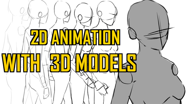 Using 3D Models in Frame-by-Frame Animation
