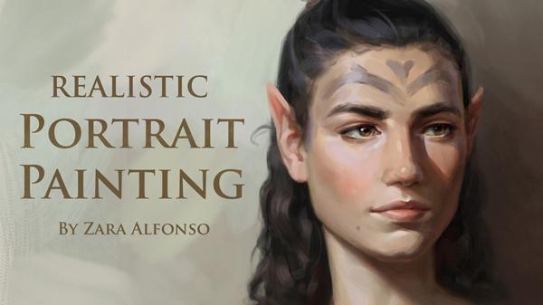 Realistic Portrait Painting