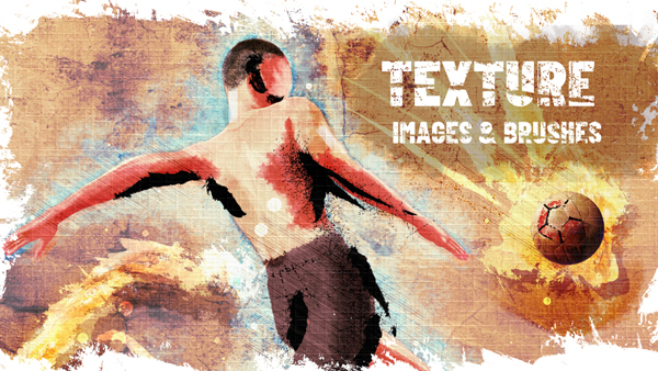 Adding Texture with Images & Brushes