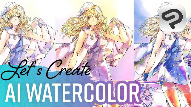 AI watercolors for illustrations! | Qsan