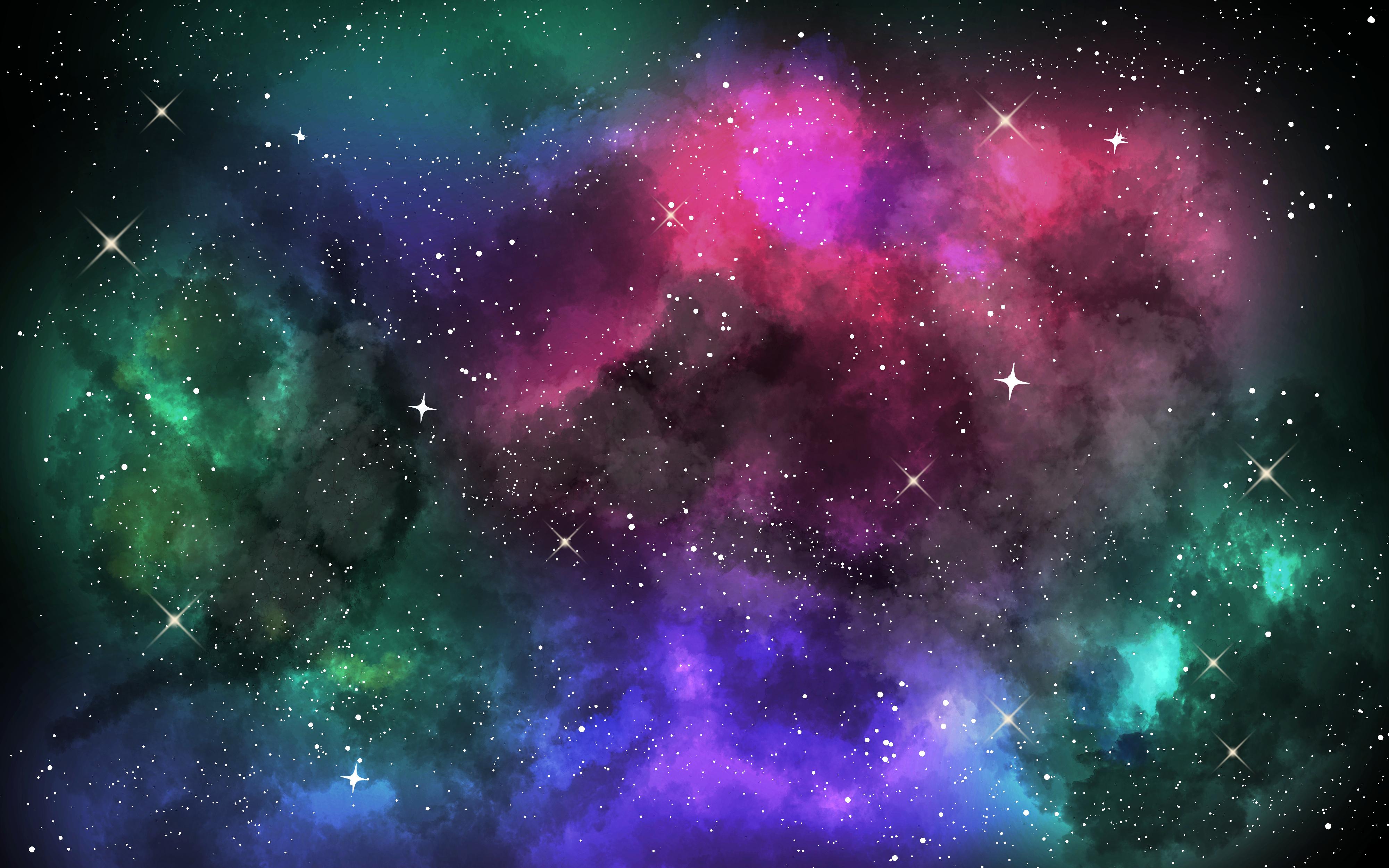 夜空と星雲の描き方 By X U Clip Studio Tips