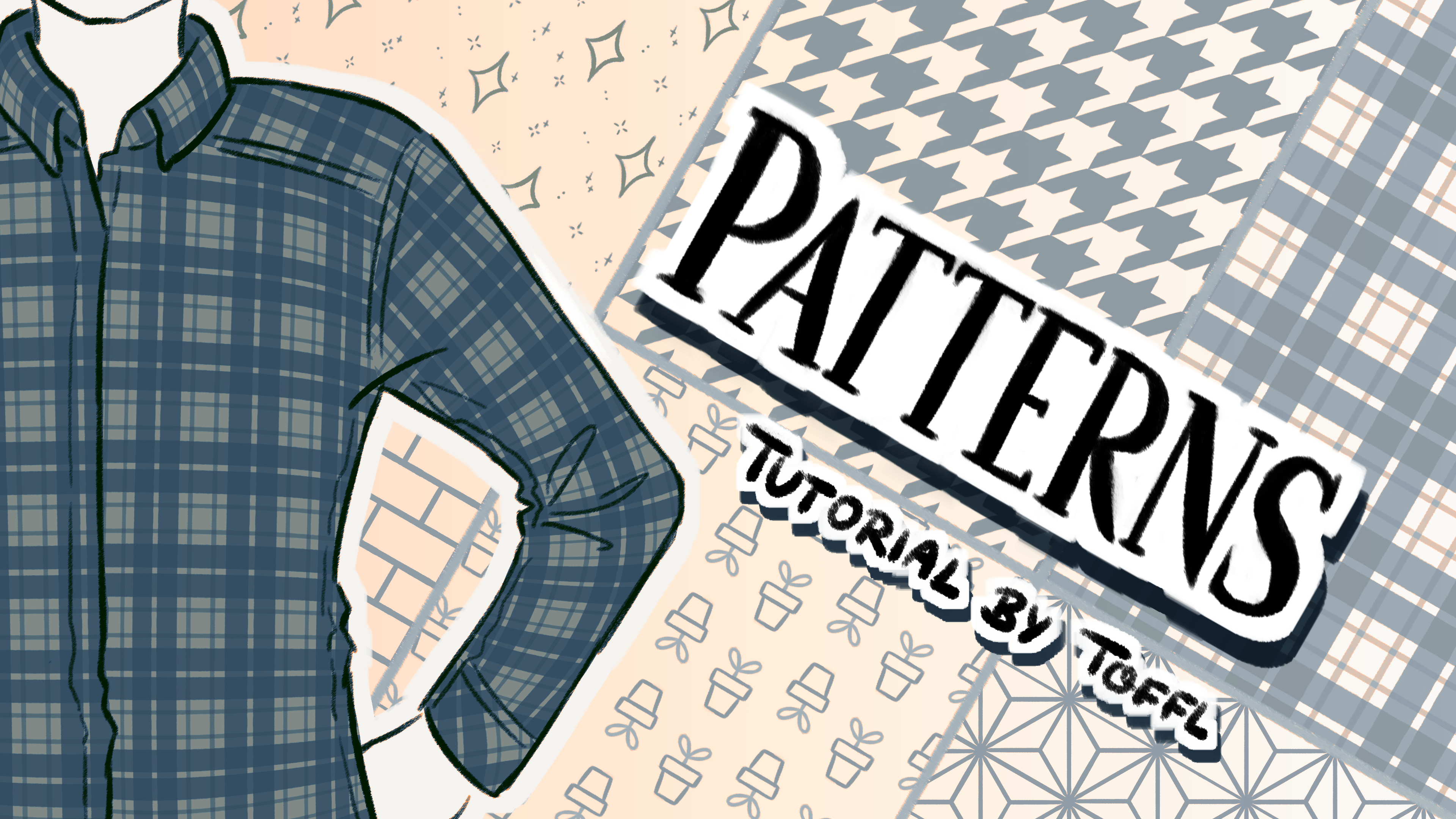 Creating And Applying Custom Patterns For Clothing By Toffl Clip Studio Tips