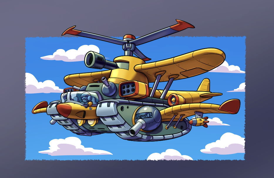 Cartoon Style Vehicles By Miguerys Clip Studio Tips