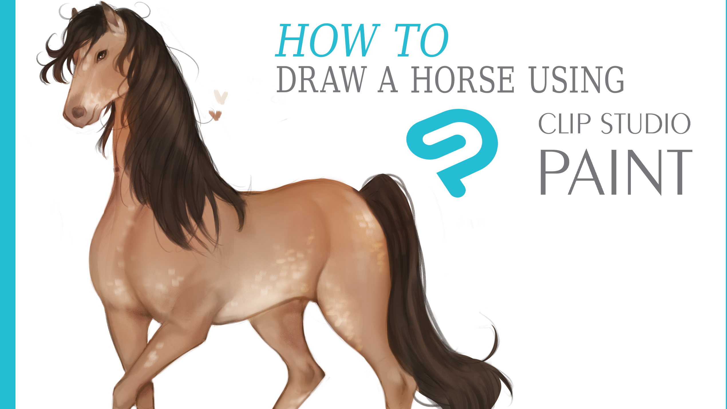 Clip Studio Tips How To Draw A Horse By Akylha Clip Studio Tips