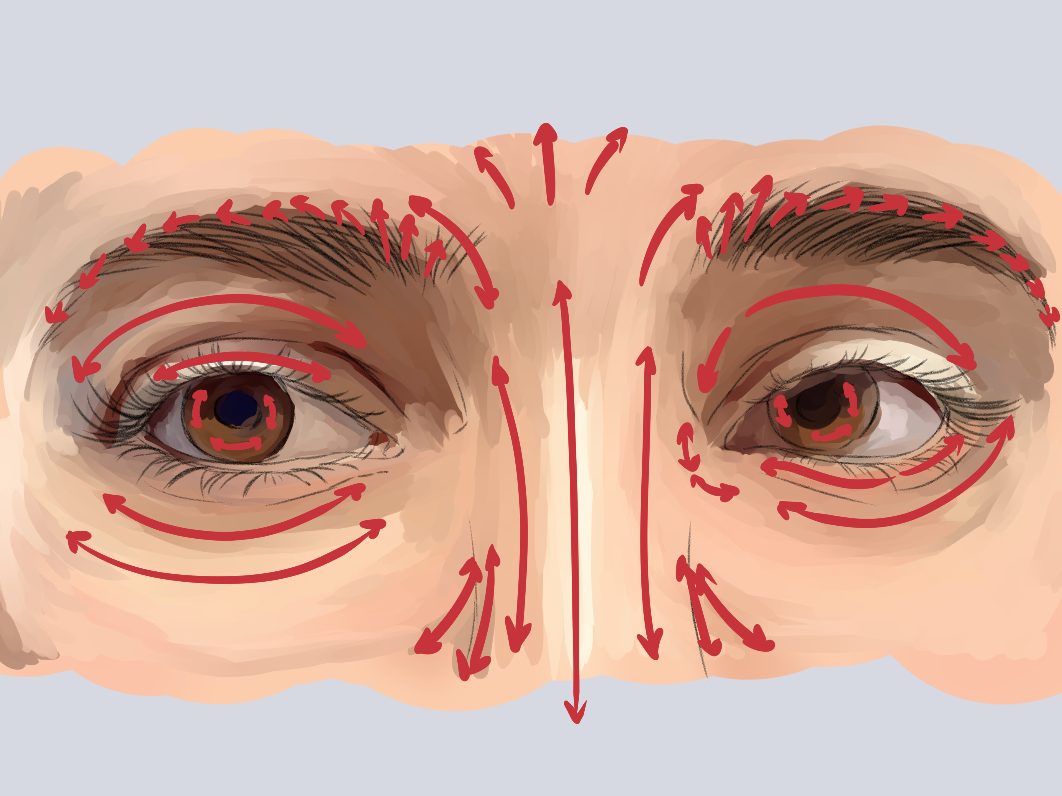 Drawing Realistic And Anime Style Eyes By Ecao Clip Studio Tips