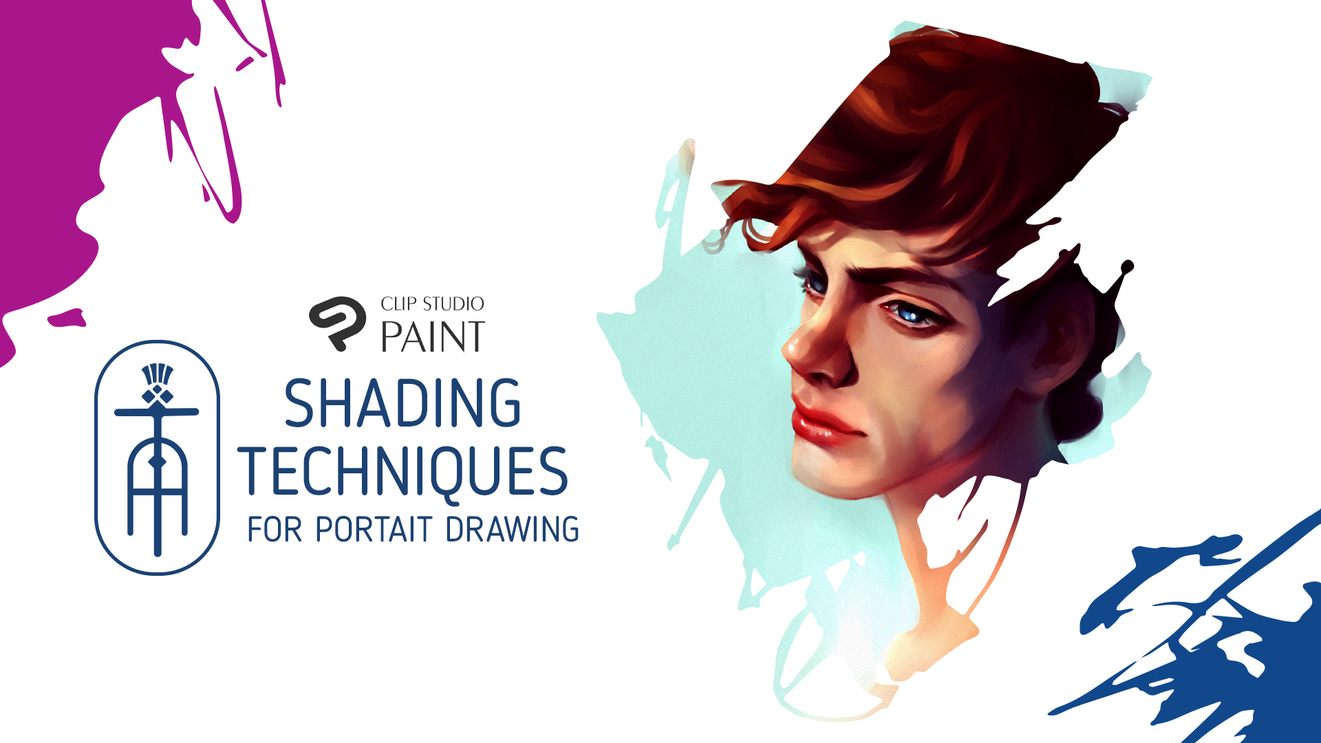 Shading Techniques For Potrait Drawing Video Text By Thistlearts Clip Studio Tips