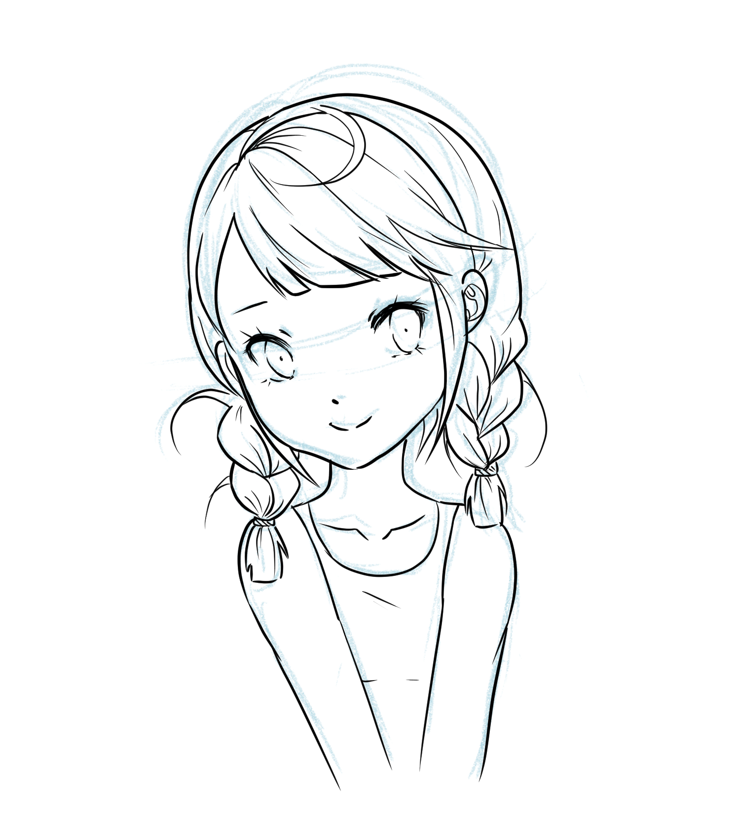 """How to Make: Smooth and Thin Lineart """"Draw Manga with Yaantii #1"""" by"""
