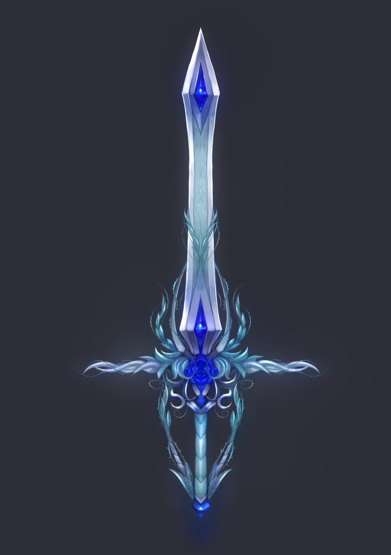 Soporte espada brillo intenso para 1 o 2 espadas