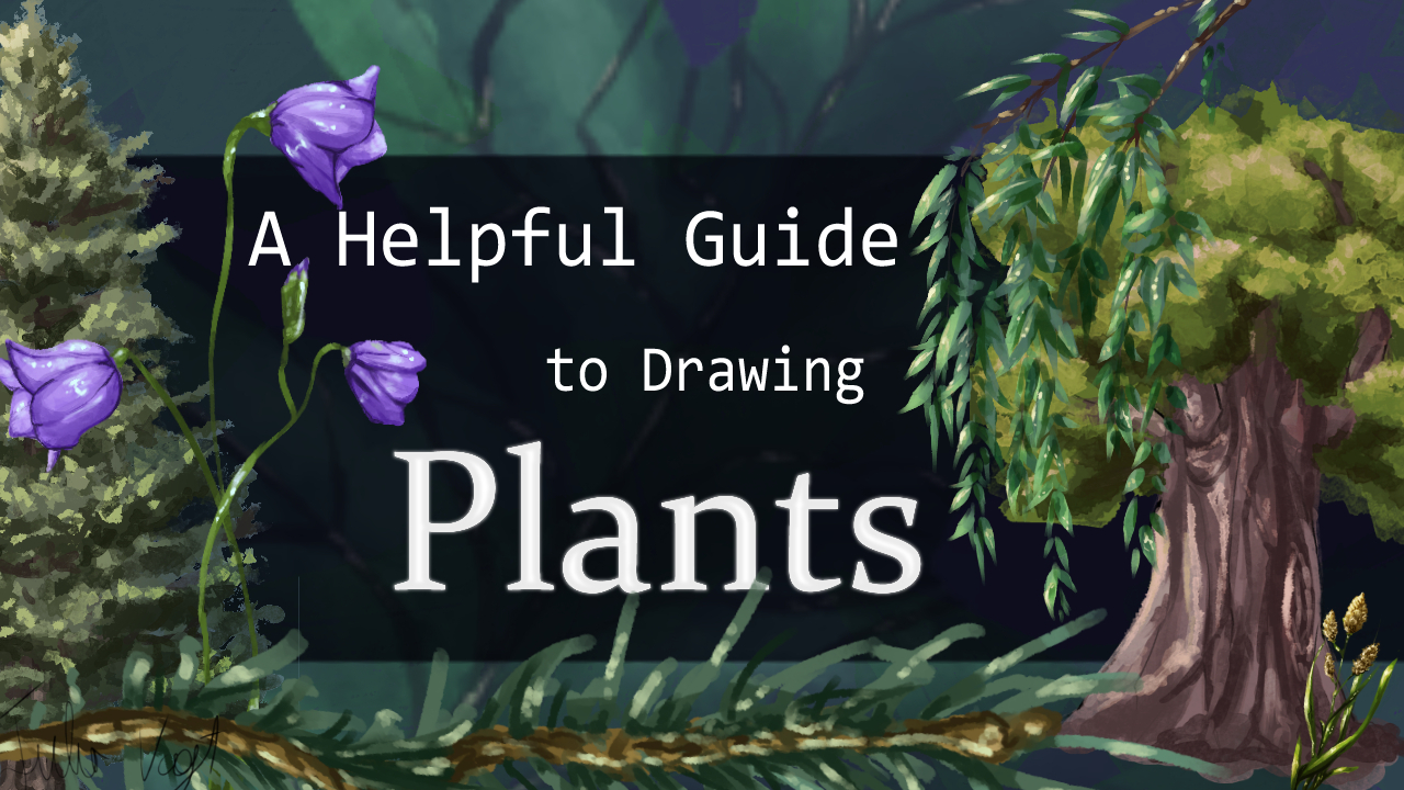 A Helpful Guide To Drawing Plants By Herodraws Clip Studio Tips