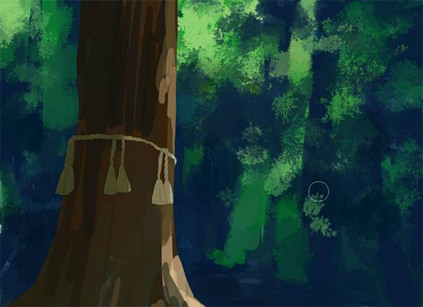 """8  Painting the Background """"Professional illustration"""