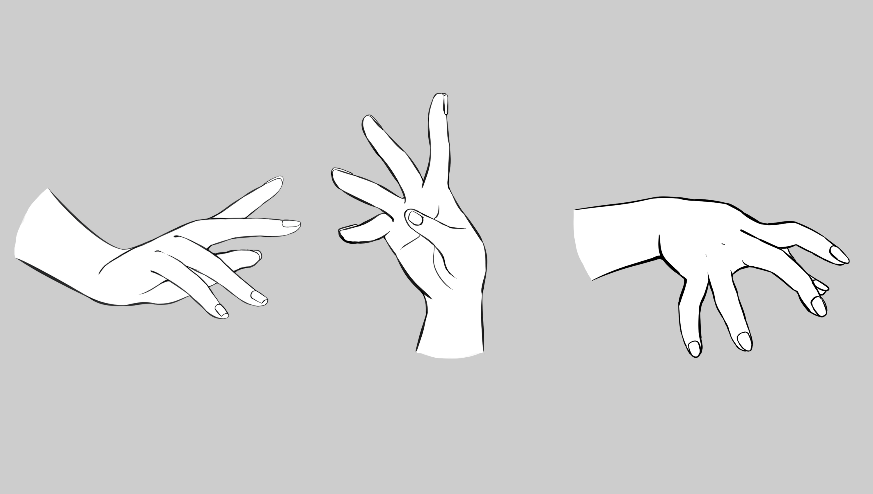 How To Draw Hand Gestures By Wwonli Clip Studio Tips