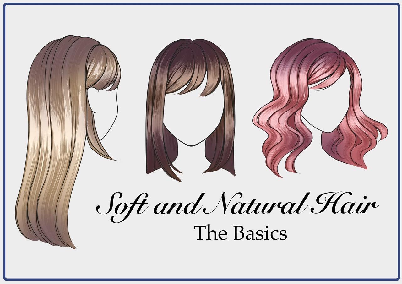 Soft And Natural Hair The Basics By Chevisteyart Clip Studio Tips