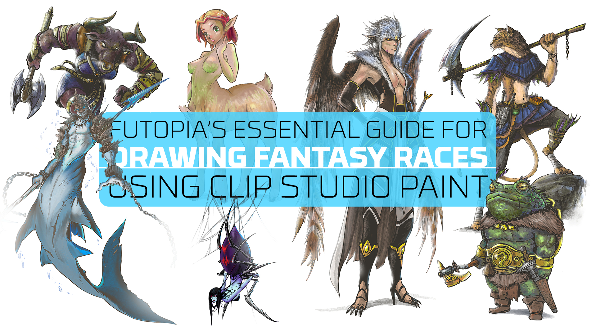 Guide For Drawing Fantasy Races By Futopia Clip Studio Tips