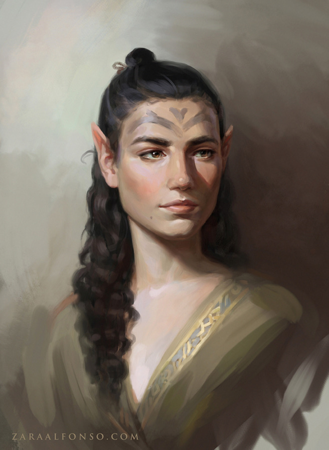 Realistic Portrait Painting By Zaraalfonso Clip Studio Tips