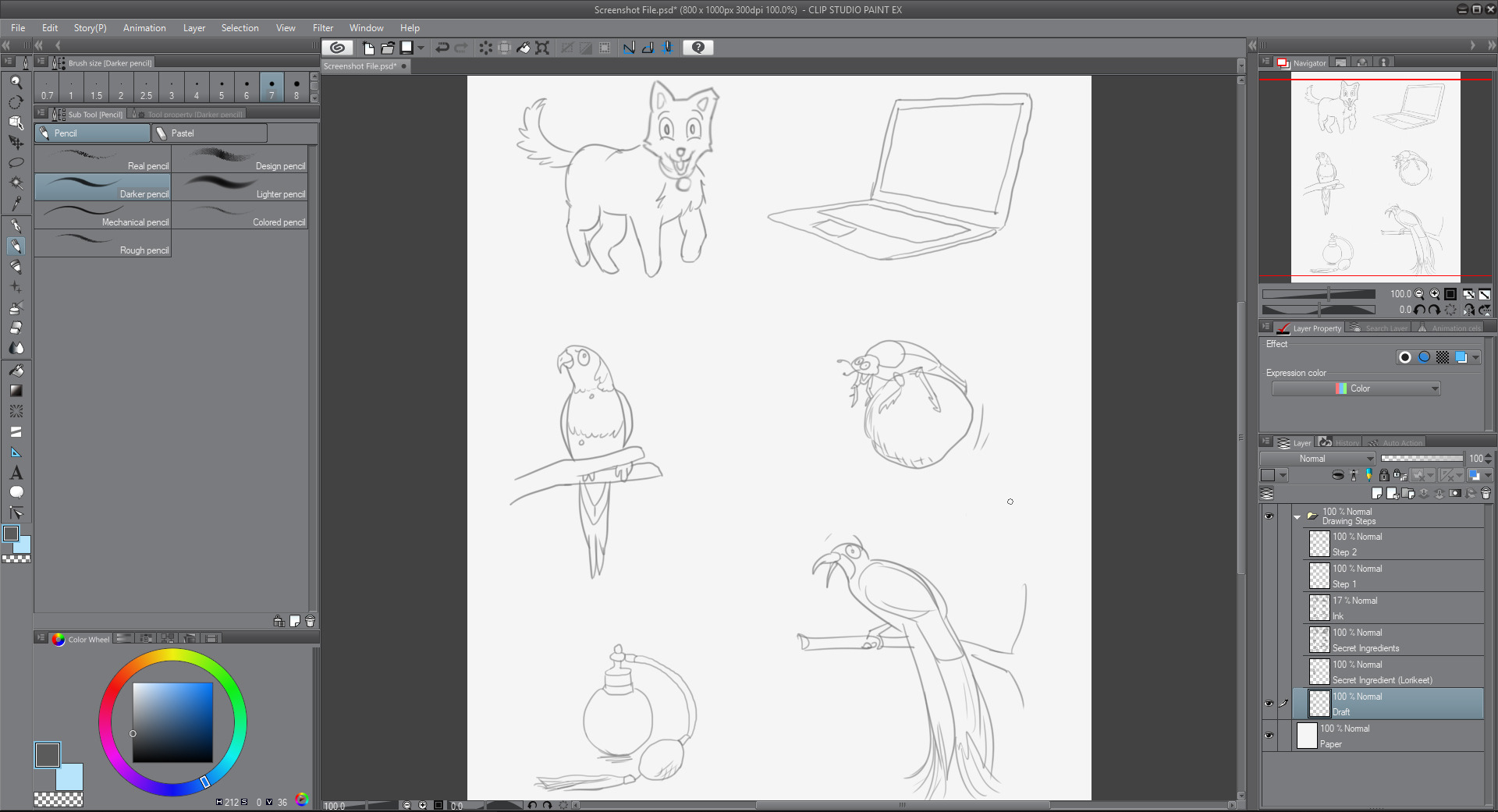 Cartoon Chef: Using Clip Studio Paint for Publishing by