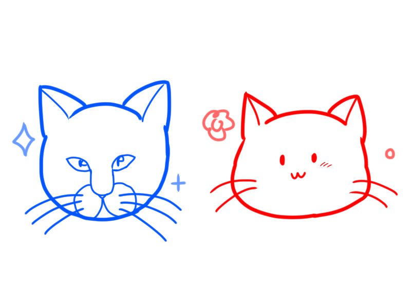 How To Draw Realistic Cat And Loose Cat Faces How To Draw