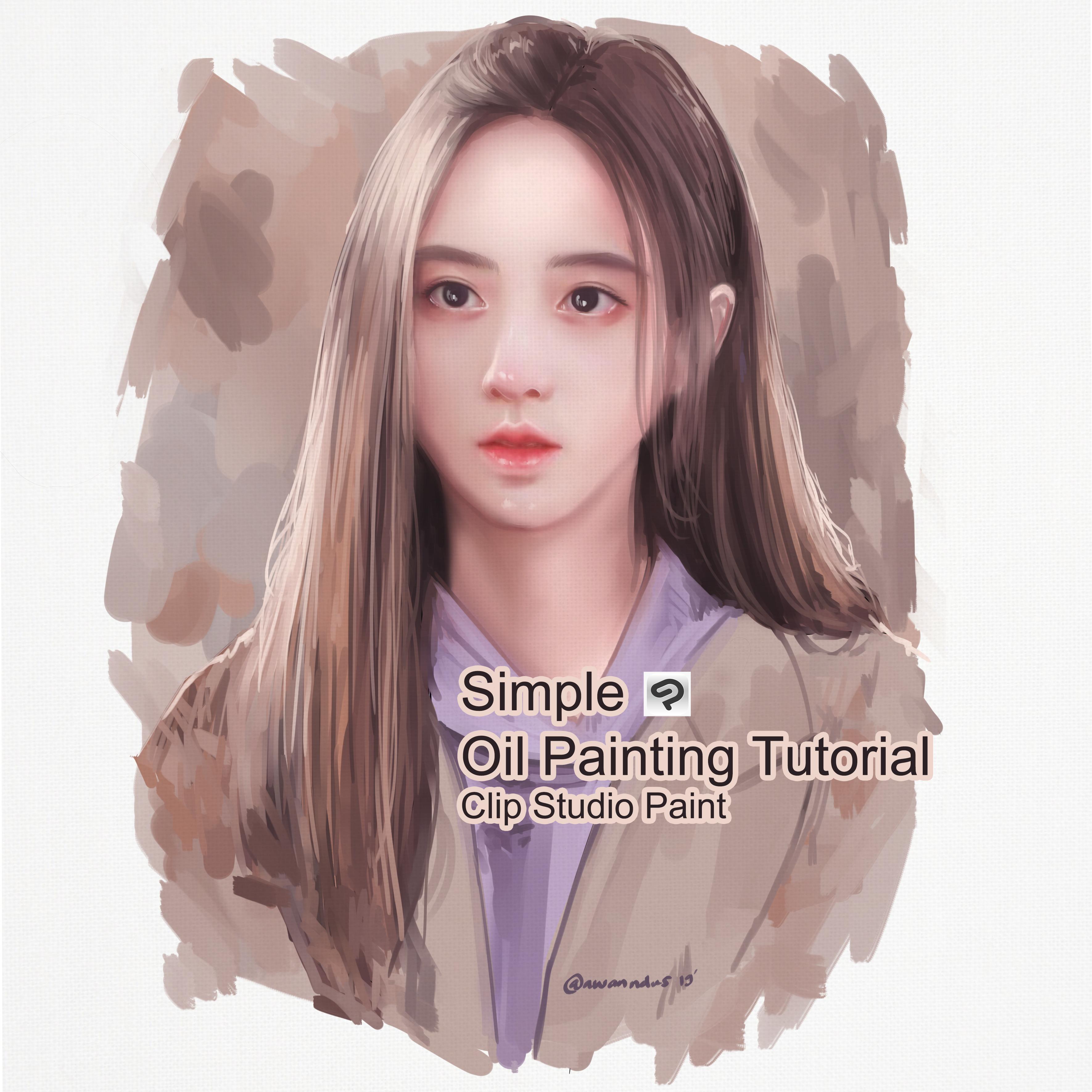 Tutorial de pintura al óleo simple
