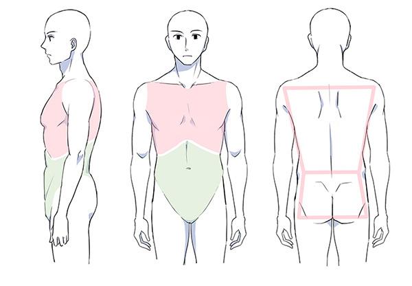 Zeichnen körper frau Körper zeichnen: