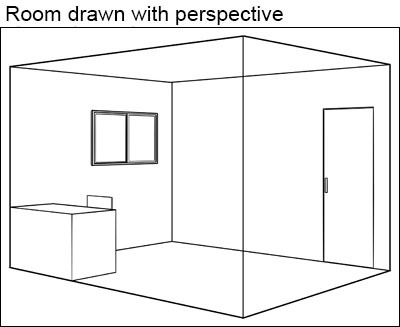 Basics Of Perspective Drawing And Perspective Rulers Basic Perspective Rulers 1 Rulers Perspective Rulers 2 By Clipstudioofficial Clip Studio Tips