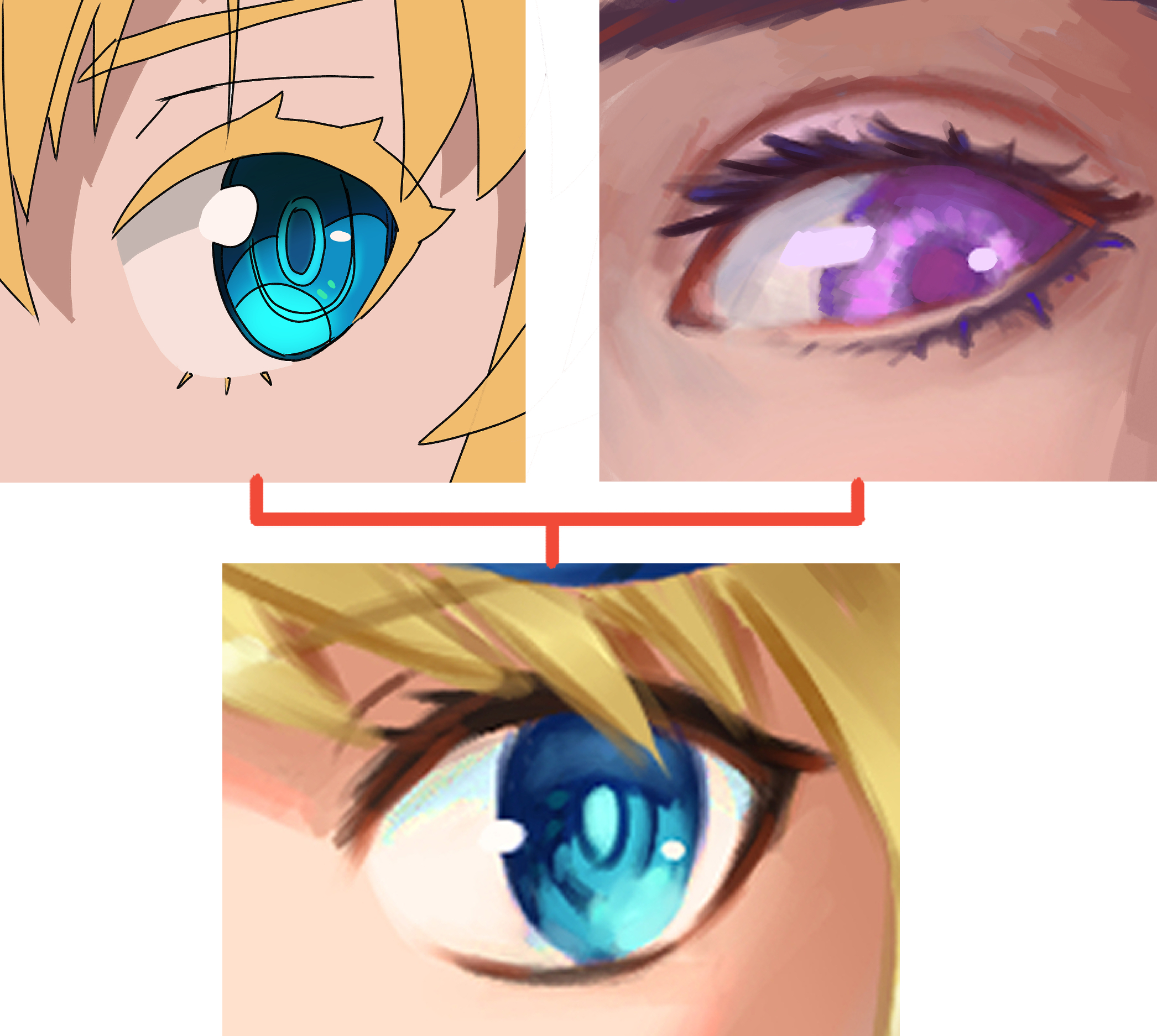 How To Draw Eyes In Any Style Tutorials 1 By Konart Clip Studio Tips