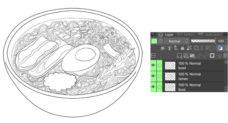How To Draw Mouth Watering Anime Food By Meliiis Clip Studio Tips