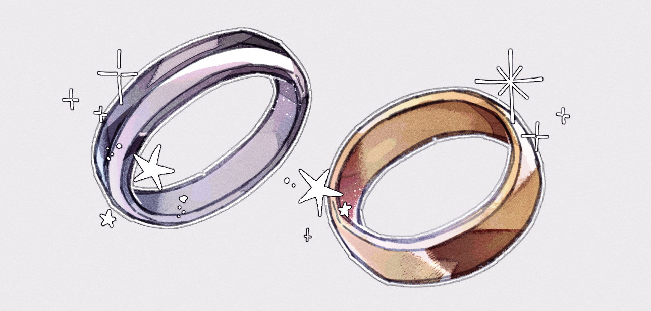 Drawing And Shading Metal Jewelry By Koomaqu Clip Studio Tips