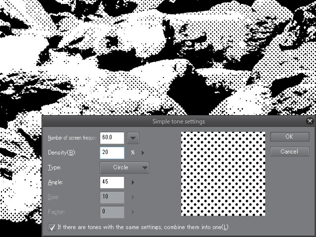 Making Comic Backgrounds from Photographs: Using Layer