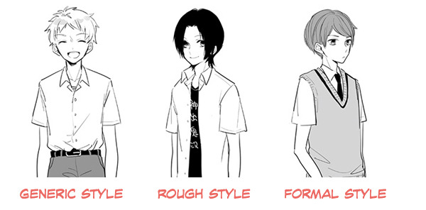How To Draw Japanese High School Uniforms Part 1 Drawing