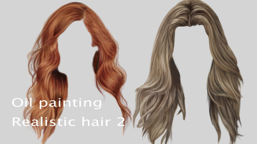 Realistic Advanced Hair Painting Painting 3 By Chrystianyaxche Clip Studio Tips