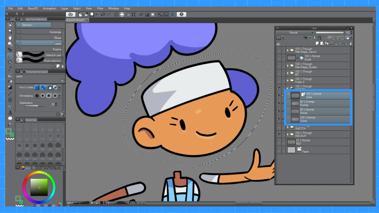 Animated Graphics for Games using Clip Studio Paint | 1 of 3